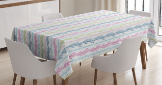 Colorful Spring Foliage Tablecloth