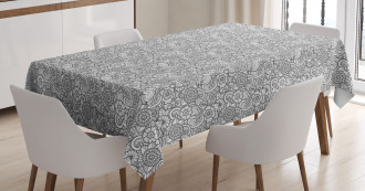 Floral Paisleys Tablecloth