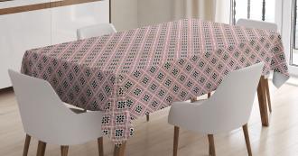 Ornate Rhombus Tablecloth