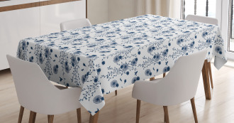 Dandelion Silhouettes Tablecloth