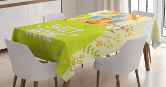 Cottage Garden Tablecloth