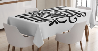 Artistic Quote Tablecloth