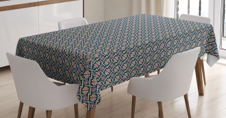 Squares and Polygons Tablecloth