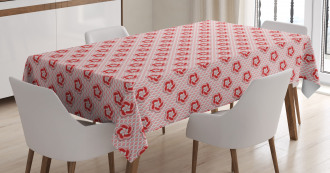 Abstract Spring Flora Tablecloth