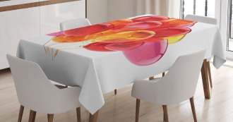 Warm Balloons Tablecloth
