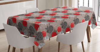 Blossoming Peony Tablecloth