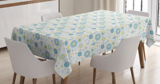 Floral Scrapbook Tablecloth