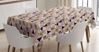 Modern and Geometric Tablecloth