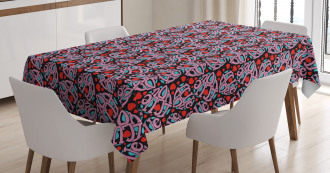 Heart Shape Letters Tablecloth
