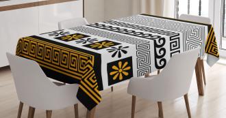 Greece Historical  Theme Tablecloth