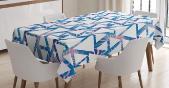 Tropical and Geometrical Tablecloth