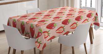 Fresh Ripe Fruit Tablecloth