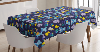 Children Toy Collection Tablecloth