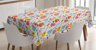 Summer Festival Colorful Tablecloth