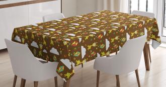 Childish Fairytale Art Tablecloth
