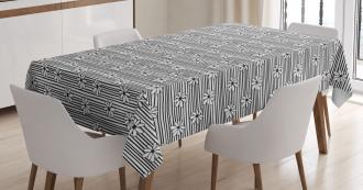 Doodle Line Upwards Tablecloth