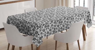 Leaves Birds Tablecloth