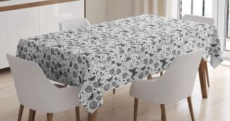 Petal Spring Dots Tablecloth