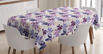 Blooming Spring Petals Tablecloth