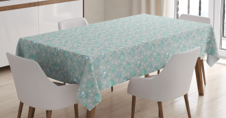 Pastel Avian Animals Tablecloth