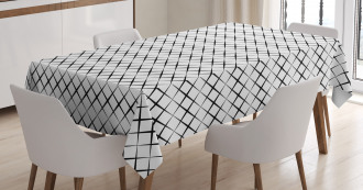 Grid Lines Tablecloth