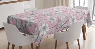 Soft Yoga Botanical Tablecloth