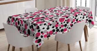 Retro Circle Dots Tablecloth