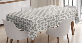 Trippy Retro Forms Tablecloth