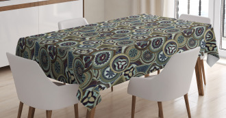 Native Indigenous Art Tablecloth