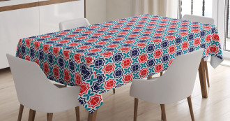 Ancient Star Tiles Tablecloth