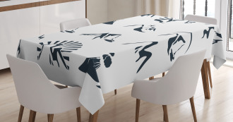Mountain Design Tablecloth