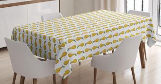 Cartoon Fruit Pattern Tablecloth