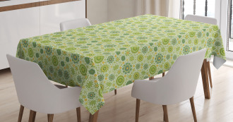 Nature of Gentle Spring Tablecloth