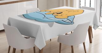 Sleeping Puppy Tablecloth