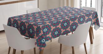 Hexagonal Tiles Tablecloth