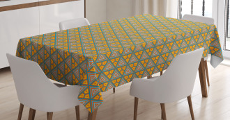 African Funky Art Tablecloth