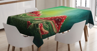 Fairy Tale Fungus Tablecloth
