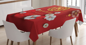 Chinese Scales Tablecloth