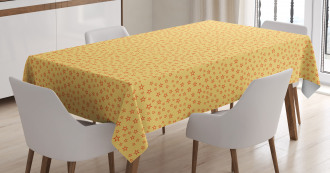 Doodle Geometric Shapes Tablecloth
