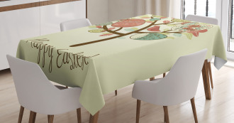 Vintage Spring Foliage Tablecloth