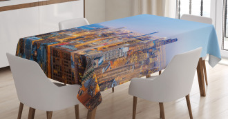 Vibrant City Tablecloth