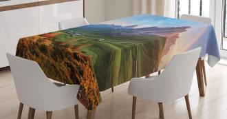 Alps Rainbow Morning Tablecloth