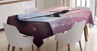 Magic Dance Fine Arts Tablecloth
