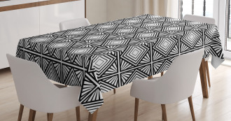 Geometric Mosaic Shape Tablecloth