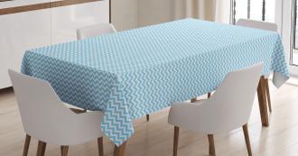 Striped Tile Design Tablecloth