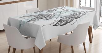 Doodle Aztec Motif Tablecloth