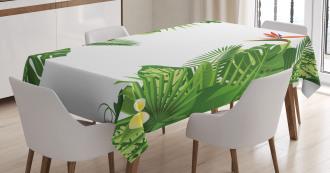 Lush Growth Rainforest Tablecloth
