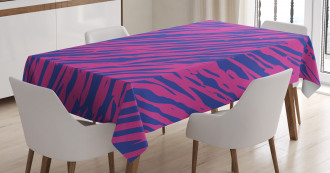 80s Style Grunge Tablecloth