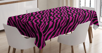 Wild Animal Stripes Tablecloth