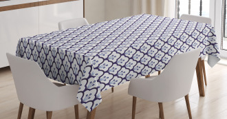 Delftware Scales Design Tablecloth